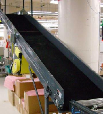 Как выровнять ленту конвейера расчет длины конвейера