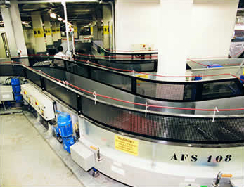 Belt conveyor handling2